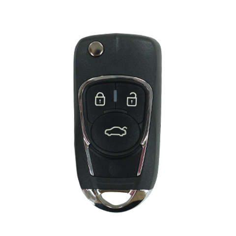 KeyDIY Aftermarket NB22 Universal Car Key Remote (with Intergrated  Transponder Chip) - 3 Button Remote