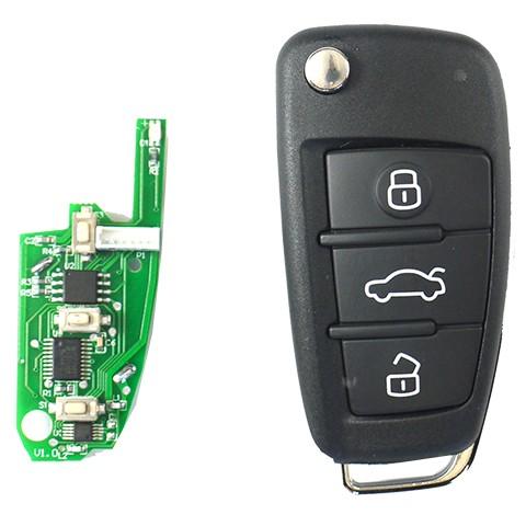 KeyDIY Aftermarket NB02 Car Key Remote for Chrysler (with Integrated  Transponder Chip)