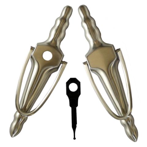 """6/"""" UAP Nanocoast Victorian Urn Door knocker Upvc wood Composite Doors Various"""